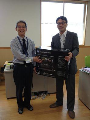 七ヶ浜社会福祉協議会にPCを寄贈して来ました。(ITで日本を元気に‼ 活動)