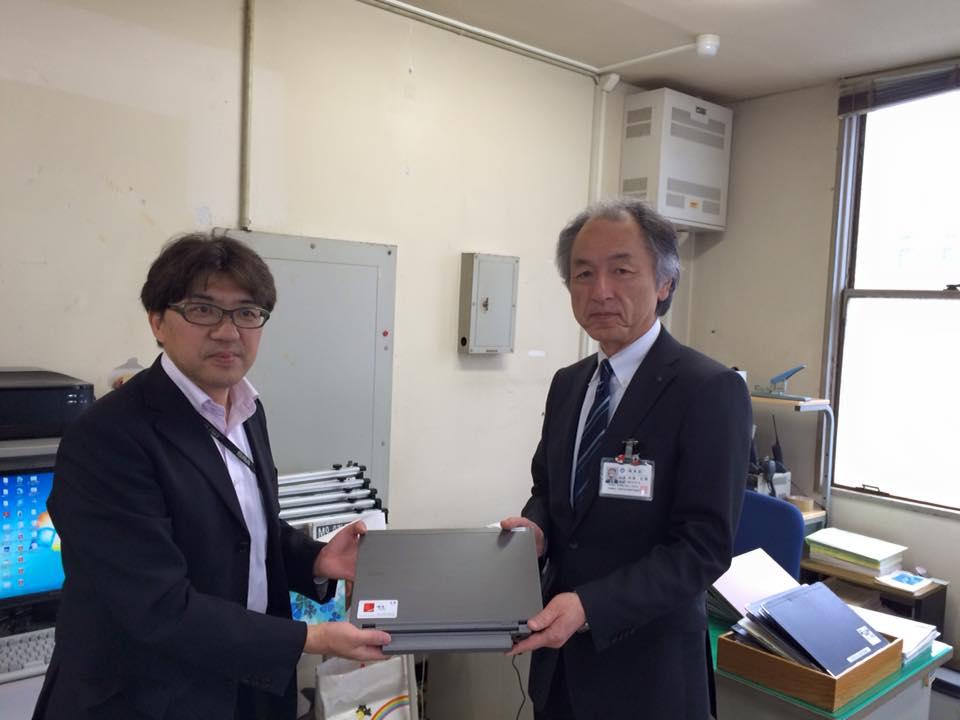 石巻と女川の社協さんにPCを寄贈しました。1