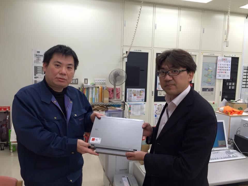 石巻と女川の社協さんにPCを寄贈しました。3