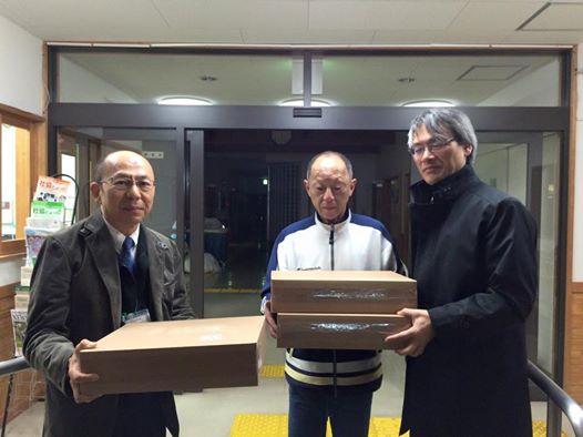 ITで日本を元気に‼の活動で白石市社協にPCを届けて来ました。